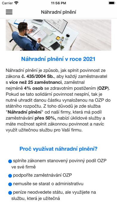 Uklidator.cz screenshot 5