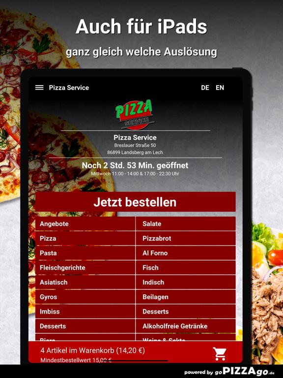 Pizza Service Landsberg screenshot 7