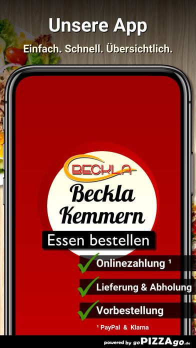 Beckla Lieferservice Kemmern screenshot 1