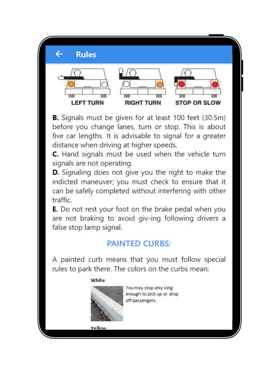 Practice Test USA & Road Signs screenshot 19