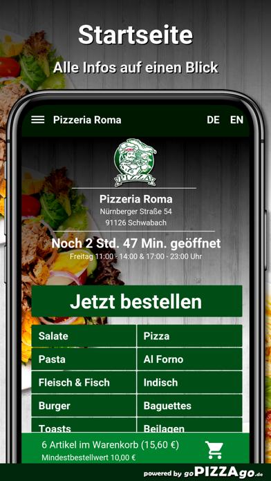 Pizzeria Roma Schwabach screenshot 4