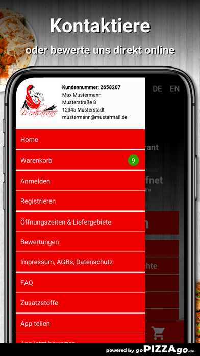 Maharani Berlin screenshot 3