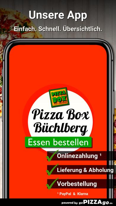 Pizza Box Büchlberg screenshot 1