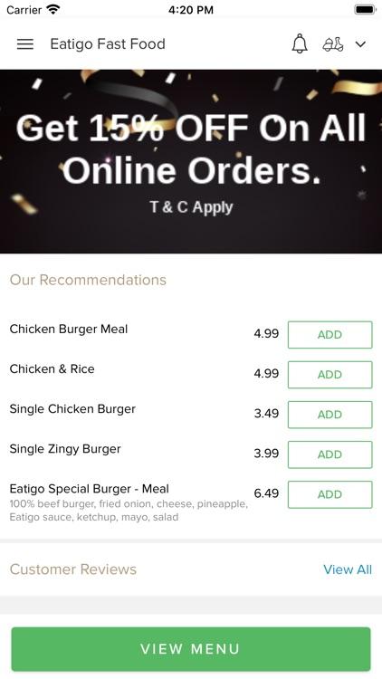 Eatigo Fast Food