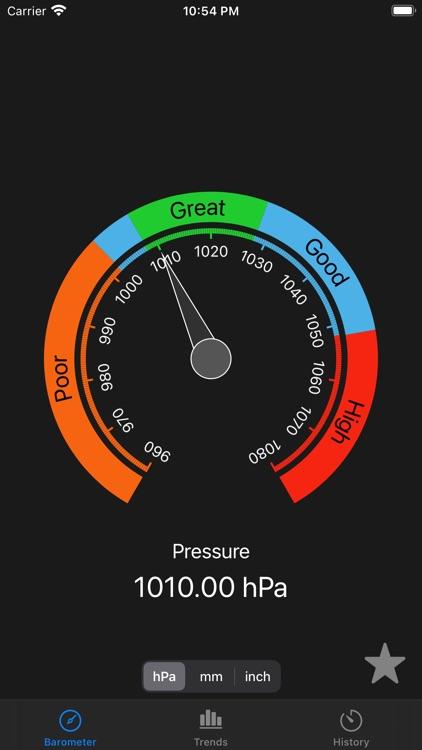 AtmoBarometer screenshot-0