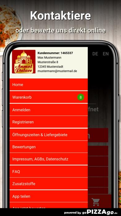 Anmol Palace Berlin Friedenau screenshot 4