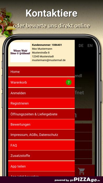 Wiesen Wald Döner screenshot 4