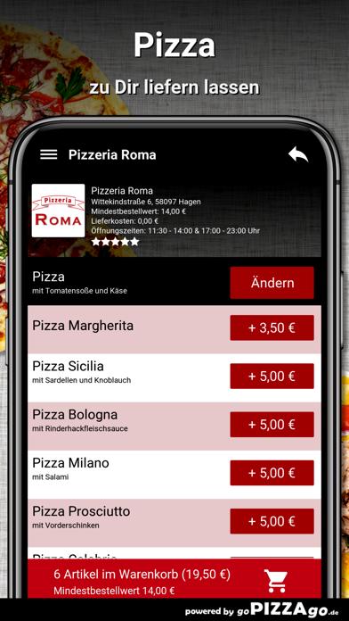 Pizzeria Roma Hagen screenshot 5