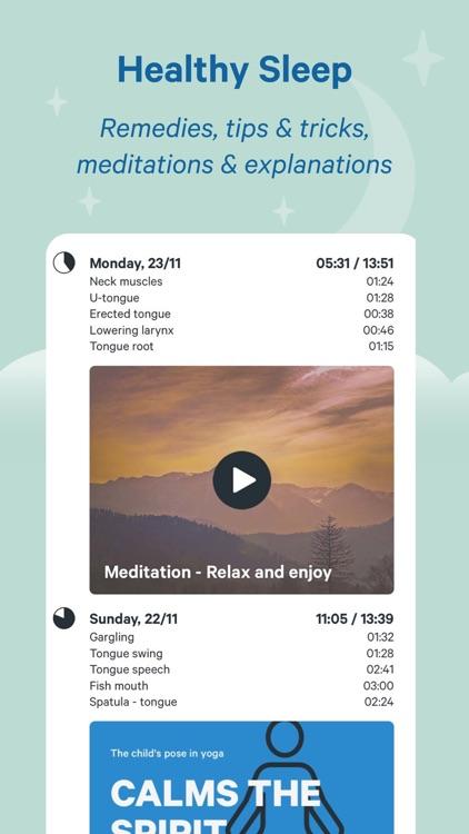 Snore Free Deep Sleep Solution screenshot-3