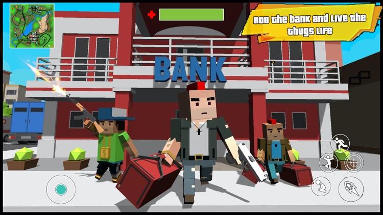 Dude Gang Wars - Mafia Crime screenshot-4
