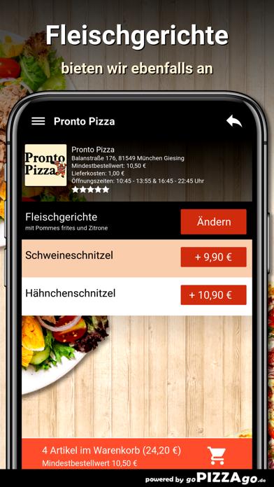 Pronto Pizza München Giesing screenshot 6