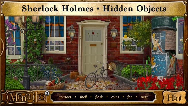 Hidden Objects Sherlock Holmes