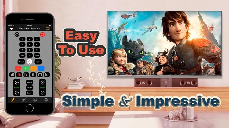 Universal remote control TV screenshot-3
