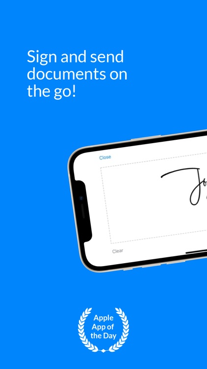 SignEasy - Sign and Fill Docs screenshot-0