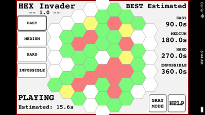 Hexagon Invader screenshot 1