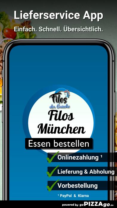 Filos der Grieche München screenshot 2