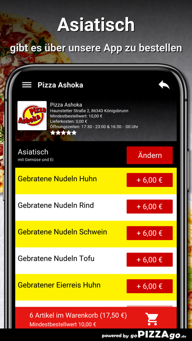 Pizza Ashoka Königsbrunn screenshot 6