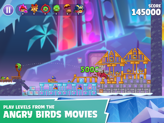 Angry Birds Reloaded screenshot 8