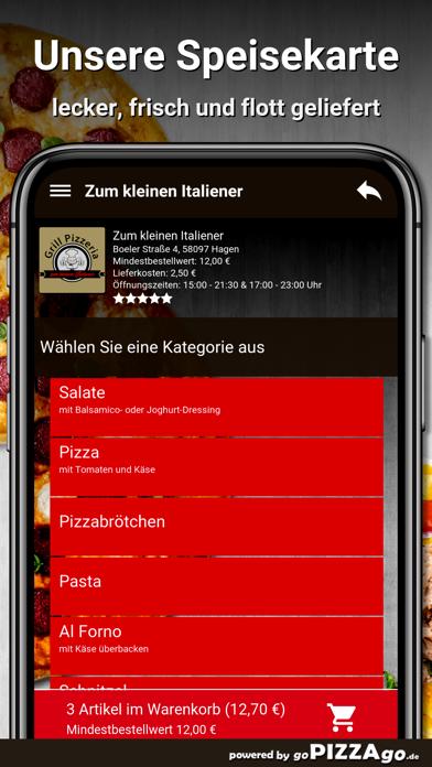Zum kleinen Italiener Hagen screenshot 4