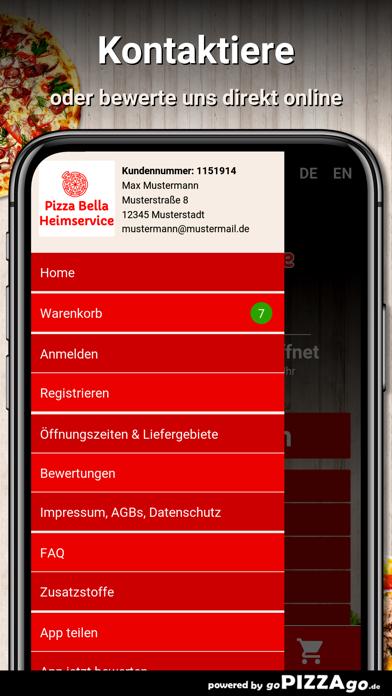 Pizza Bella Herrenberg im Gäu screenshot 3
