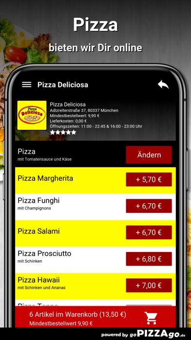 Pizza Deliciosa München screenshot 1