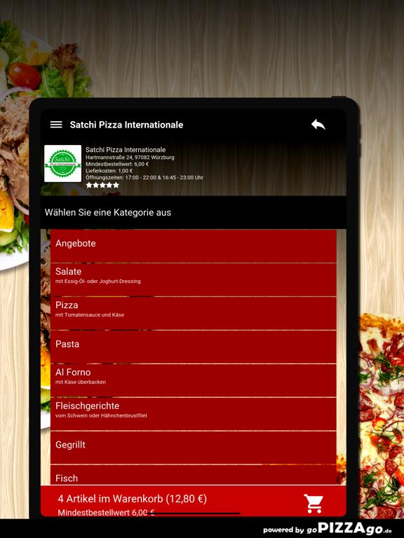 Satchi Pizza Würzburg screenshot 8