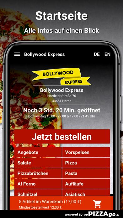 Bollywood Express Herne screenshot 2