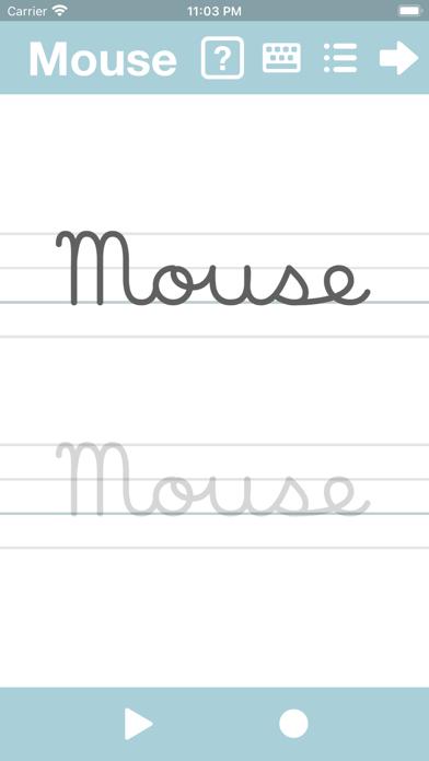 Cursive Writing App@ abCursive Screenshots