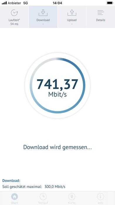 BreitbandmessungScreenshot von 3