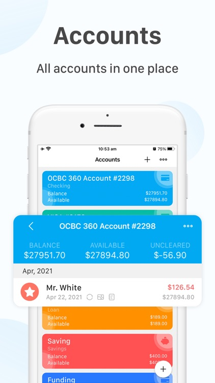 Account Tracker - bWallet Pro