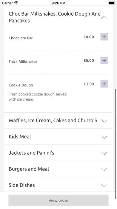 TDH Diner, Warminster screenshot 3