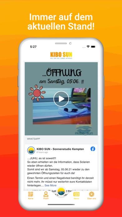 KIBO SUNScreenshot von 3