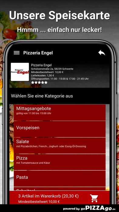 Pizzeria Engel Schwerte screenshot 4