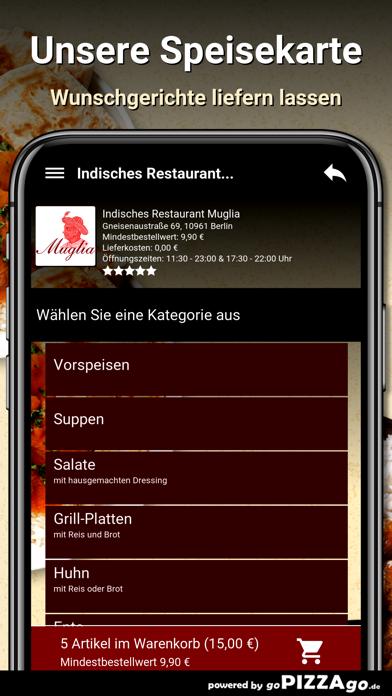 Indisches Restaurant Muglia screenshot 4