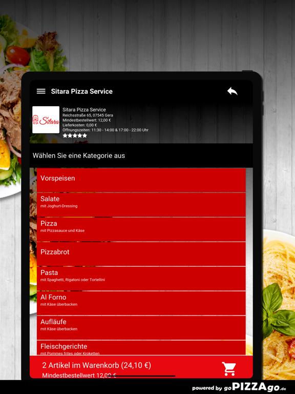 Sitara Pizza Service Gera screenshot 8