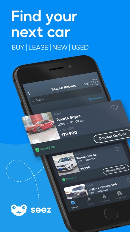 Seez: All Cars in One App screenshot-0