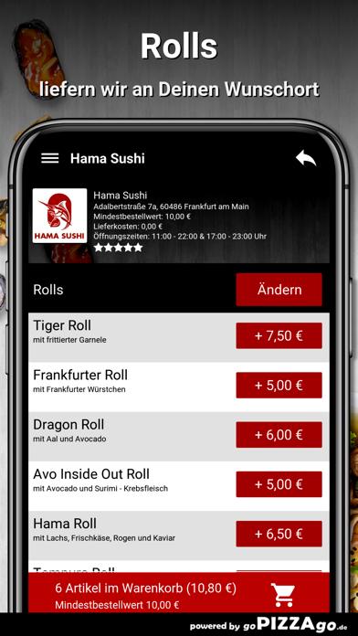Hama Sushi Frankfurt am Main screenshot 6