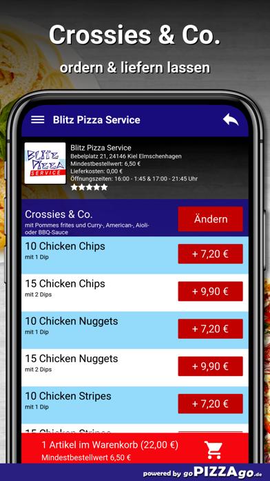 Blitz Pizza Kiel Elmschenhagen screenshot 6