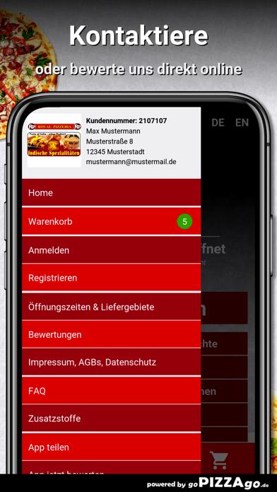 New Royal Pizzeria Herford screenshot 3