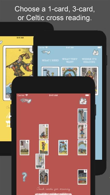 Tarot Simple: Cards & Readings screenshot-3