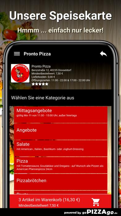 Pronto Pizza Düsseldorf screenshot 4