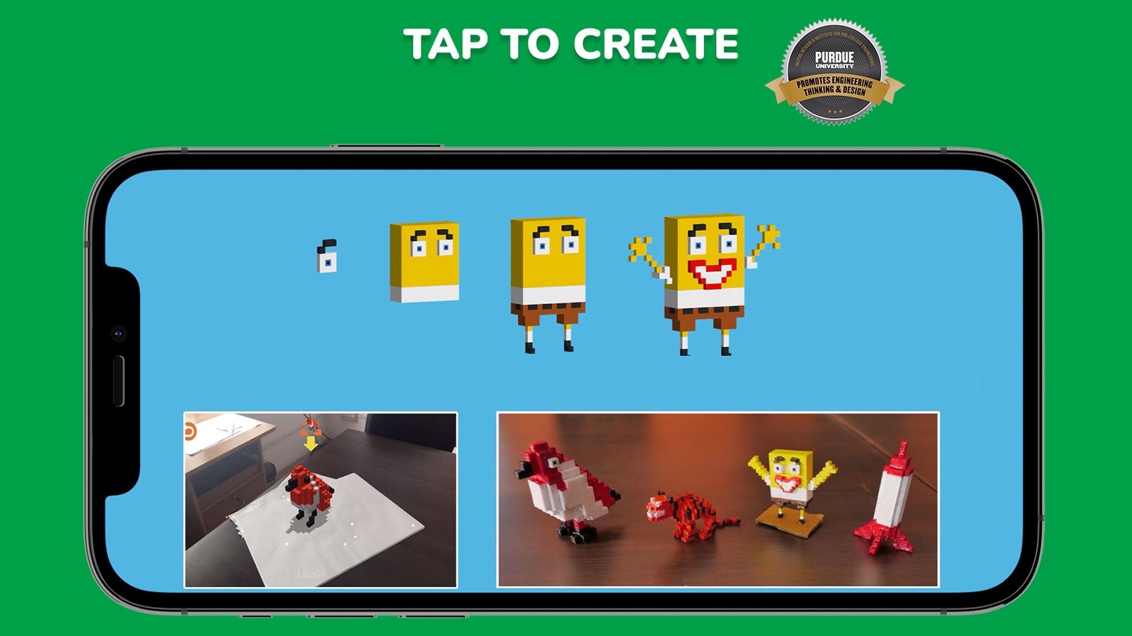 Screenshot do app Blox 3D Junior