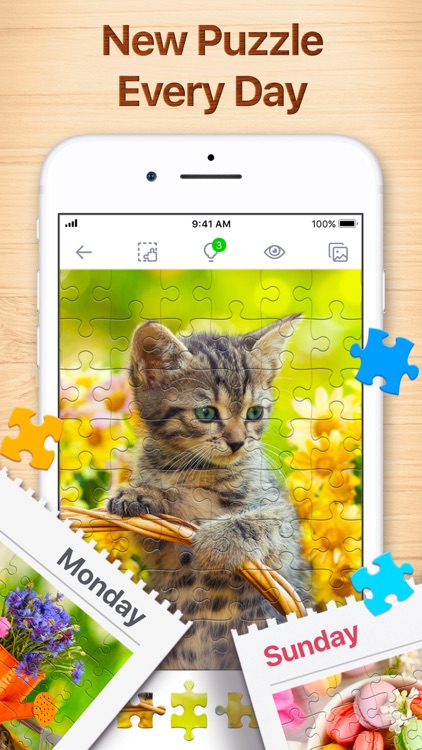 Jigsaw Puzzles - Puzzle Games screenshot-4