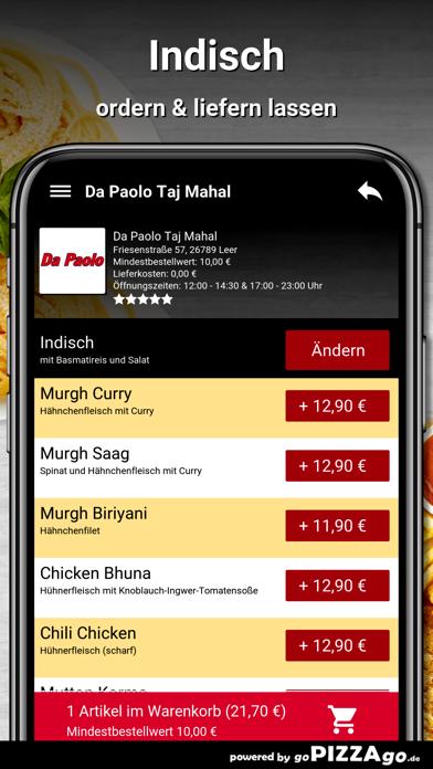 Da Paolo Taj Mahal Leer screenshot 6