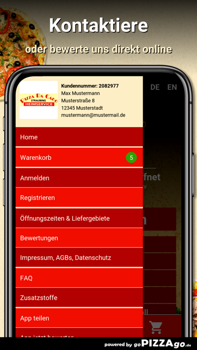Pizza Da Capo Straubing screenshot 3