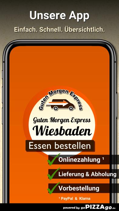 Guten Morgen Express Wiesbaden screenshot 1
