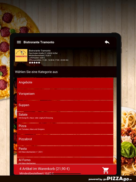 Bistrorante Tramonto Kriftel screenshot 8