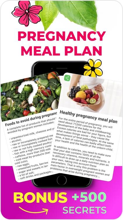 VITA: Pregnancy diet plan