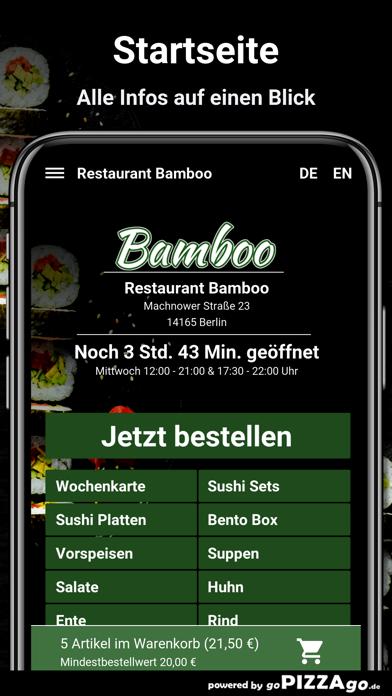 Restaurant Bamboo Berlin screenshot 2