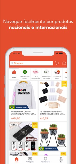 Shopee: Compre de Tudo Online app screenshot